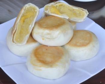 Pía đậu sầu riêng không trứng 500gram (MSP: P5_KT)