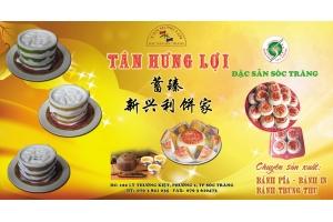 Bánh pía Tân Hưng Lợi tại hội chợ triển lãm quốc tế ở Côn Minh Trung Quốc